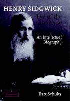 Henry Sidgwick - Eye of the Universe: Book by Bart Schultz