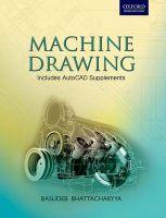 Machine Drawing: Book by Basudeb Bhattacharyya