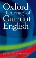 Oxford Dictionary of Current English:Book by Author-Oxford University Press