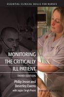 Monitoring the Critically Ill Patient: Book by Philip Jevon