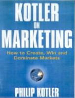 Kotler on Marketing:Book by Author-Philip Kotler