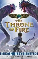 The Kane Chronicles: the Throne of Fire:Book by Author-Rick Riordan