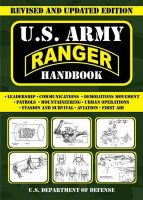 U.S. Army Ranger Handbook: Book by U.S. Department of Defense