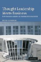 Thought Leadership Meets Business:Book by Author-Peter Lorange
