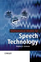 Mathematical Models for Speech Technology:Book by Author-Stephen Levinson