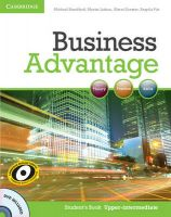Business Advantage Upper-intermediate Student's Book with DVD: Book by Michael Handford , Martin Lisboa , Almut Koester , Angela Pitt