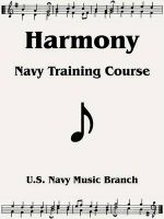 Harmony: Navy Training Course: Book by U S. Navy Music Branch
