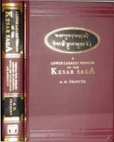 Lower Ladakhi Version of the Kesar Saga - Tibetan Text, English Abstracts  : Book by A.H. Francke