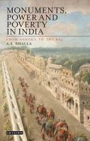 Monuments, Power and Poverty in India: From Ashoka to the Raj: Book by A. S. Bhalla