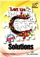 Let Us C Solutions : Book by Kanetkar