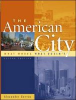 The American City: What Works, What Doesn't: Book by Alexander Garvin