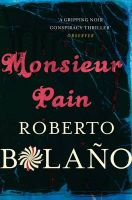 Monsieur Pain:Book by Author-Roberto Bolano