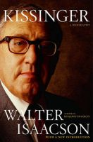 Kissinger: A Biography: Book by Walter Isaacson