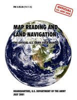 Map Reading and Navigation: The Official U.S. Army Field Manual, FM 3.25-26: Book by U.S. Army Department