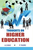 Thoughts On Higher Education: Book by A.S.Rao, P.Tauro