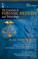 The Essentials of Forensic Medicine and Toxicology: Book by K.S.Narayan Reddy