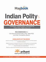 Magbook Indian Polity & Governance: Book by Experts Compilation