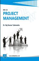 MS52 Project Management  (IGNOU Help book for MS-52 in English Medium): Book by Dr. Raj Kumar Yadvendra