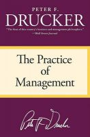 The Practice of Management: Book by Peter F Drucker