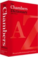 The Chambers Dictionary:Book by Author-Chambers , Chambers