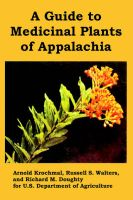 A Guide to Medicinal Plants of Appalachia: Book by U.S. Department of Agriculture
