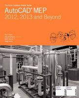 The Aubin Academy Master Series: AutoCAD Mep: Compatible with 2012, 2013 and Beyond: Book by MR Paul F Aubin