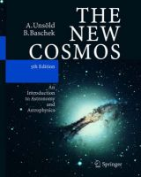 The New Cosmos: An Introduction to Astronomy and Astrophysics: Book by Albrecht Unsold