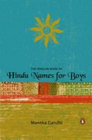 The Penguin Book of Hindu Names for Boys: Book by Maneka Gandhi