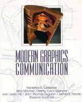 Modern Graphics Communication: Book by Frederick E. Giesecke