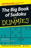 The Big Book of SuDoku For Dummies:Book by Author-Andrew Heron