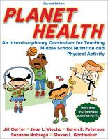 Planet Health: Book by Jill Carter