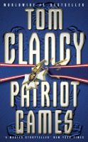 Patriot Games:Book by Author-Tom Clancy
