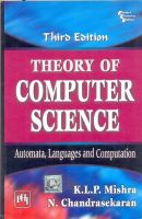 Theory of Computer Science: Automata, Languages and Computation: Book by K.L.P. Mishra , N. Chandrasekaran
