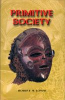 Primitive Society: Book by Lowie, R.H.