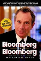 Bloomberg by Bloomberg: Book by Michael R. Bloomberg