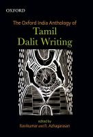 The Oxford India Anthology of Tamil Dalit Writing: Book by Ravikumar , Azhagarasan