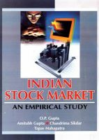 Indian Stock Market: An Empirical Study: Book by O. P. Gupta