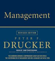Management: Book by Peter F Drucker,Sam Tsoutsouvas,Joseph A Maciariello