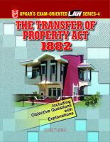 Law Series-4 Transfer of Property Act, 1882: Book by Abhinav Misra