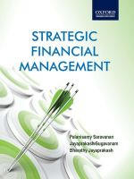Strategic Financial Management 1st Edition