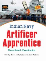 Indian Navy  Artificer Apprentice Recruitment Exam Study Package: Book by Arihant Experts
