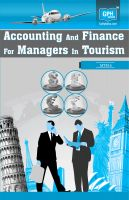 MTM5 Accounting And Finance For Managers In Tourism(IGNOU Help book for MTM-5 in English Medium): Book by GPH Panel of Experts