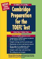 Cambridge Preparation for the TOEFL® Test CD-ROM: Book by Jolene Gear , Robert Gear