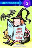 Little Witch Learns to Read: Book by Deborah Hautzig,Sylvie Wickstrom