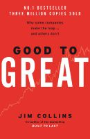 Good to Great: Book by Jim Collins