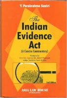 The Indian Evidence Act: Book by Parabrahma Sastry