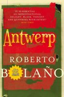Antwerp: Book by Roberto Bolano