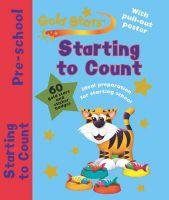 Gold Stars Pre-School Workbook: Starting to Count