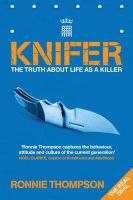 Knifer:Book by Author-Ronnie Thompson