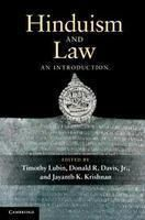 Hinduism and Law: An Introduction: Book by Lubin, Timothy, et al